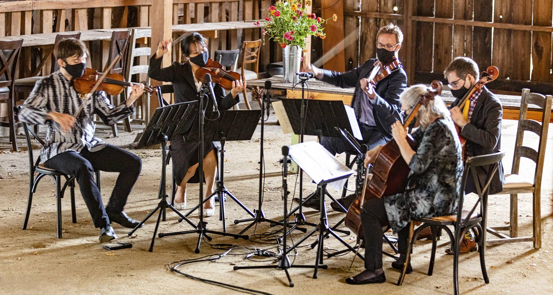 Musaics of the Bay Presents: Schubert Cello Quintet in C Major, D. 956