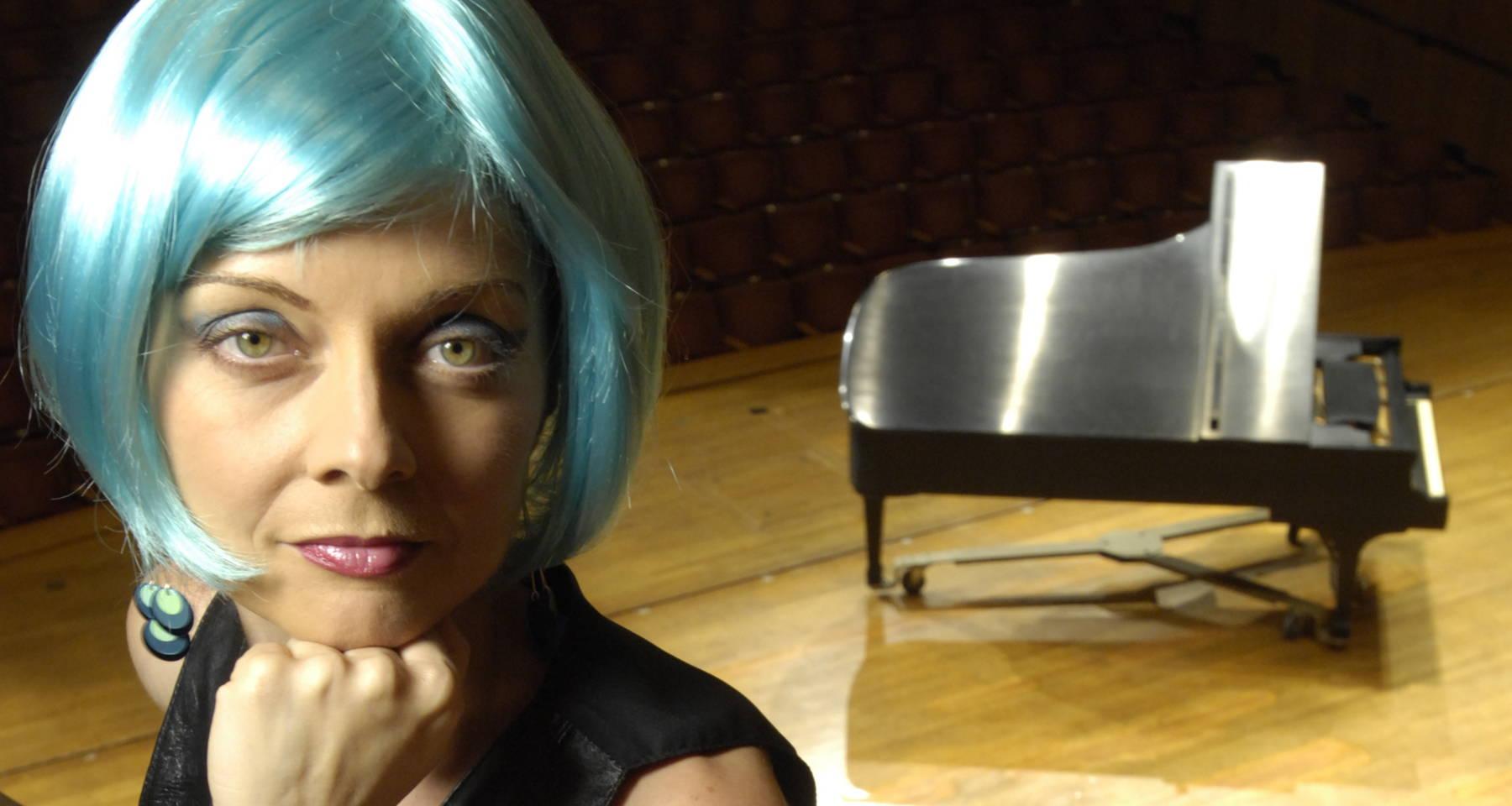 Pianist Nada world premiere of a piano work by Naji Hakim/ the Scherzo with Chopin and Brahms