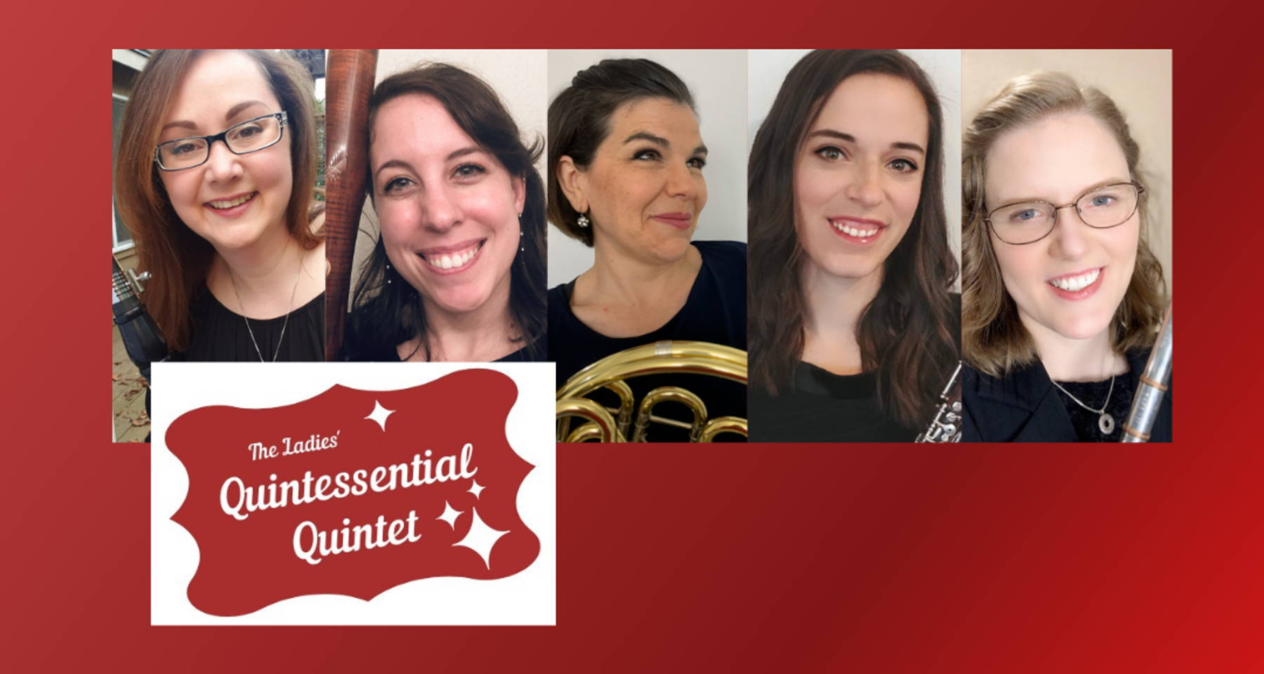 Ladies' Quintessential Quintet presents: Chamber Music Large and Small - works from solo to double quintet