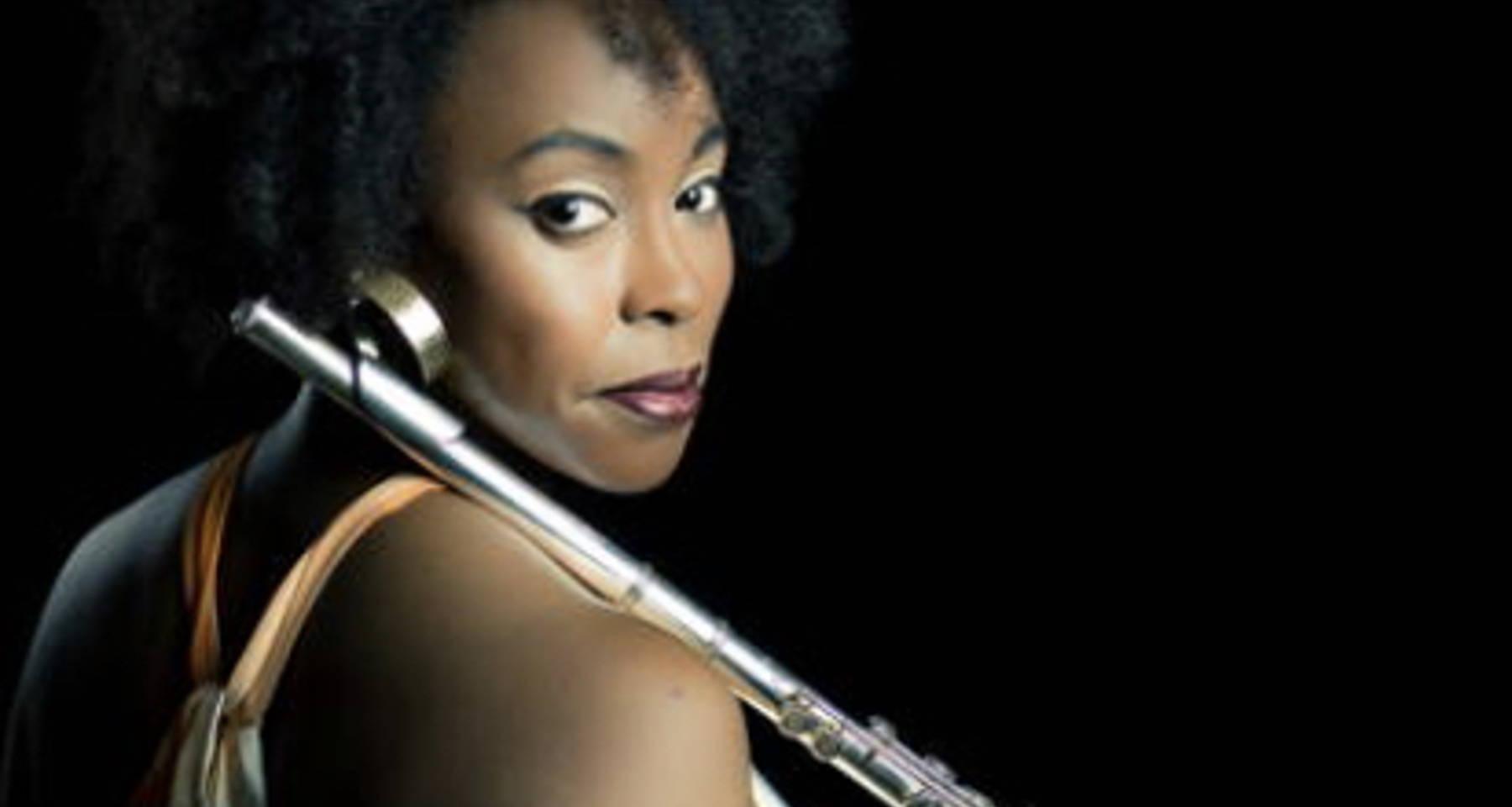 Planetarymuse: Flautist Adrienne Baker