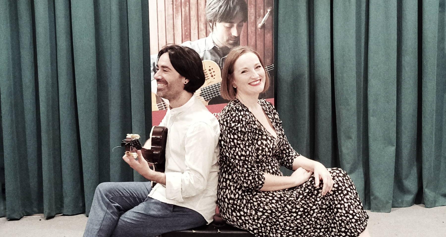 De Ida y Vuelta  (Panta Rei Ensemble: Diego Corraliza, classical guitar - María Cruz Calvo, voice)