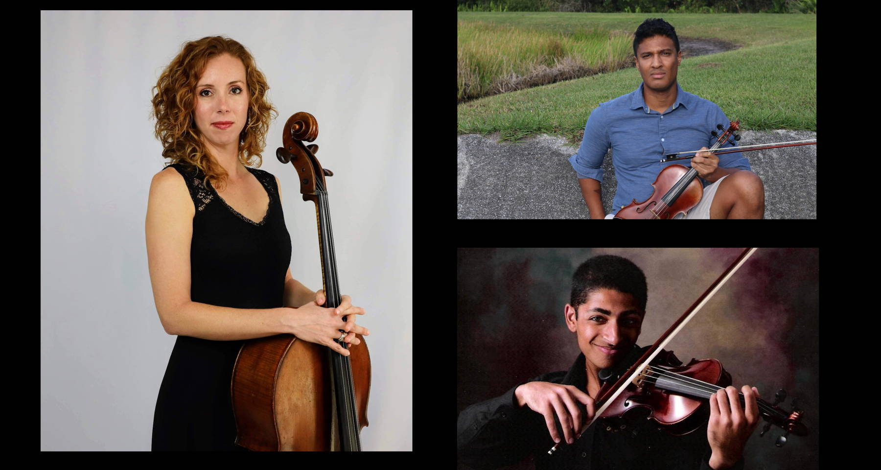 Equinoxes and Solstices: Music For Two Violins And Cello With Kyle Walcott And Friends
