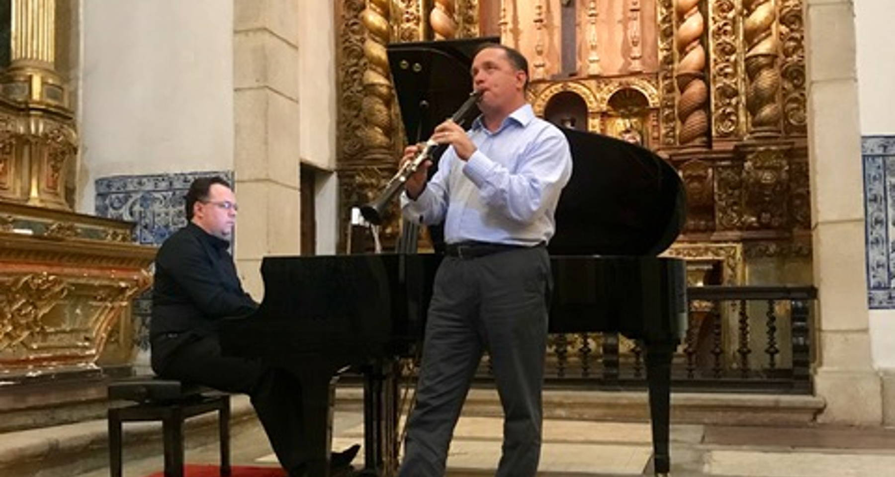 Redwine Casarotti Clarinet Piano Duo, performing Poulenc, Gershwin, Villa Lobos, and more!