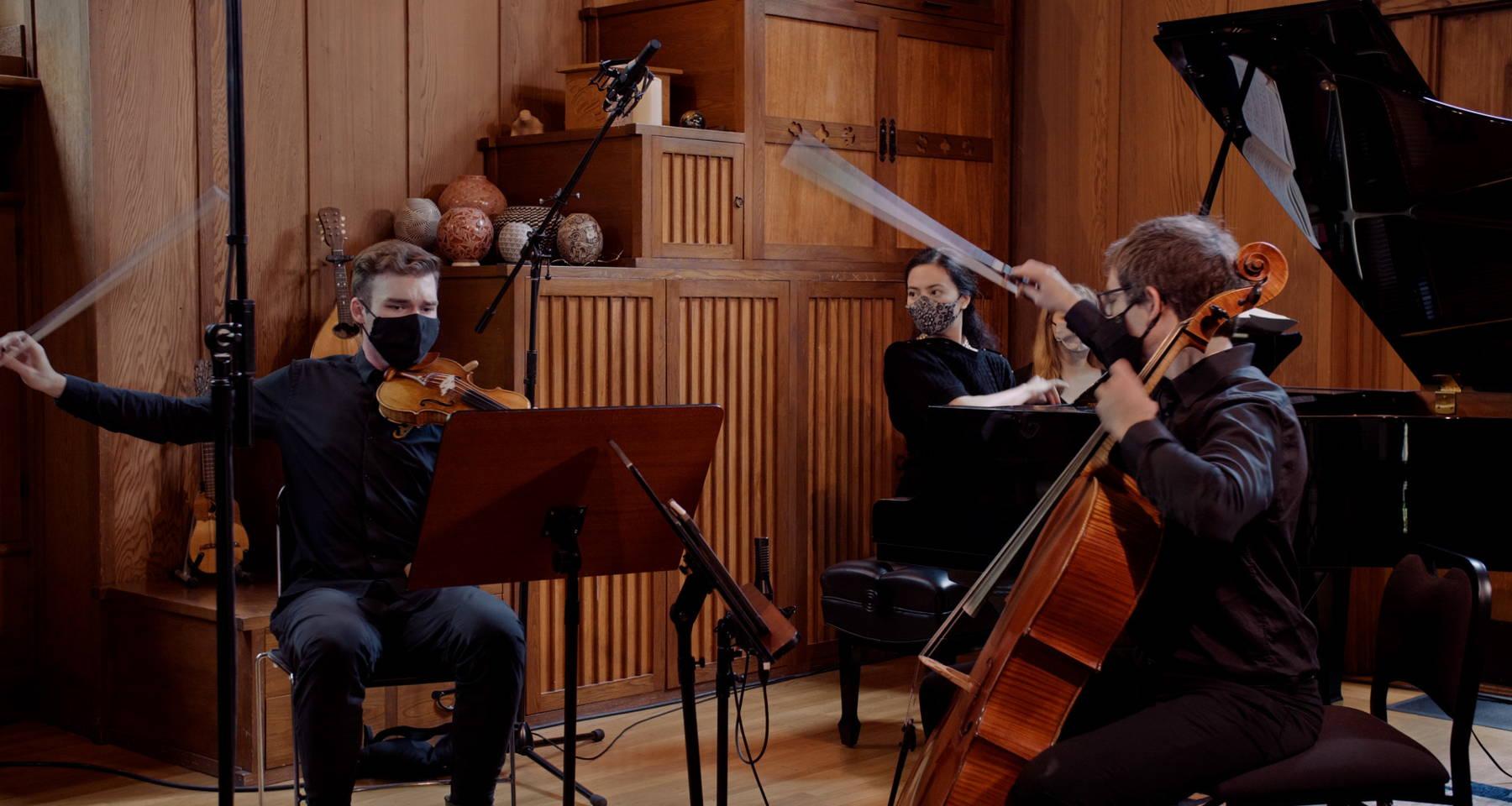 Musaics of the Bay Virtual Season Premiere 2020: Dvorak Piano Trio in F Minor, Opus 65