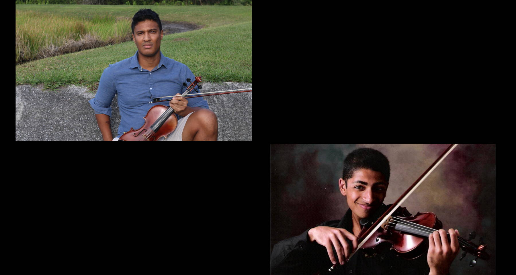 Bartok, Berio, de Beriot, and The Beatles: Violin Duets with Nishad and Kyle