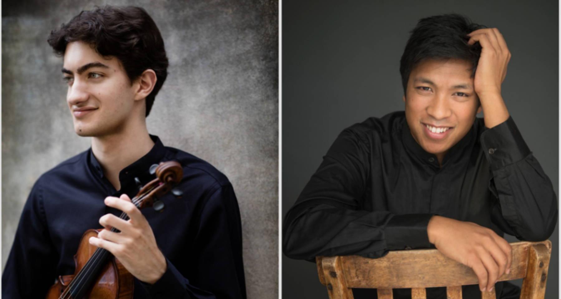 Stephen Waarts and Yannick Rafalimanana | Enescu, Debussy, Tchaikovsky, Saint-Saëns/Ysaÿe