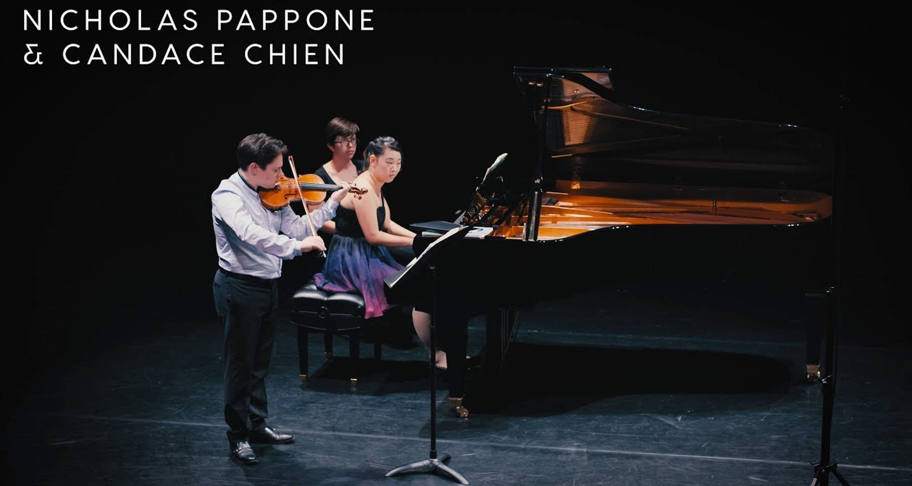 "Alighieri Duo plays Beethoven's legendary ""Kreutzer"" Violin Sonata (""Bridgetower!?"") and live selected encores!"