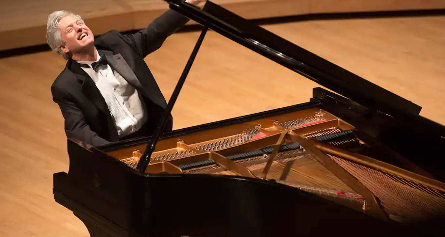 An evening with Pianist and Raconteur Brian Ganz: Romanticism and the Revolutionary Spirit in the works ofChopin and Delacroix