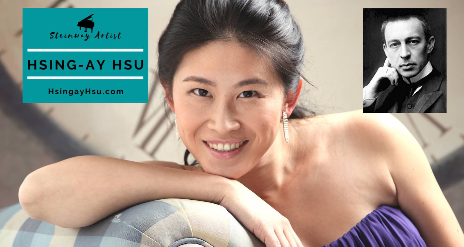 """Rachmaninoff's Variations on a Theme by Chopin: """"Elegance Meets Passion"""" with Hsing-ay Hsu"""