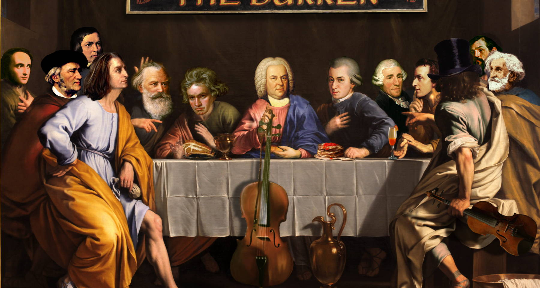 Classical Brunch at the Burren!