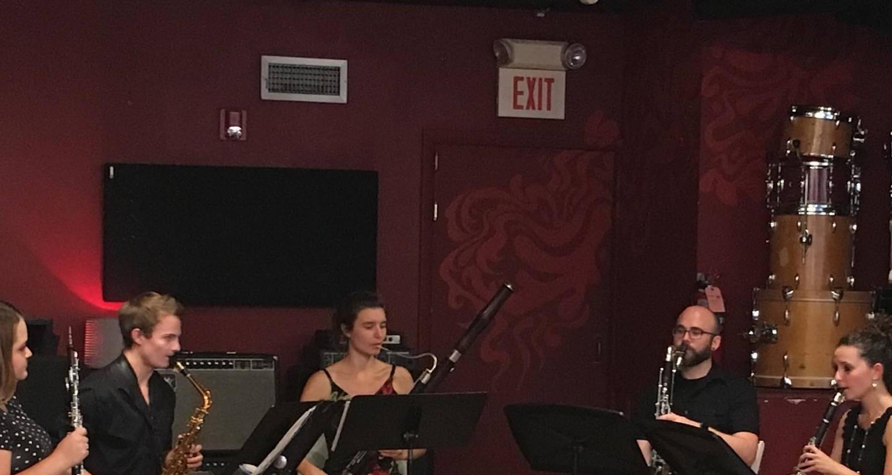 Kalliope Reed Quintet final summer concert!