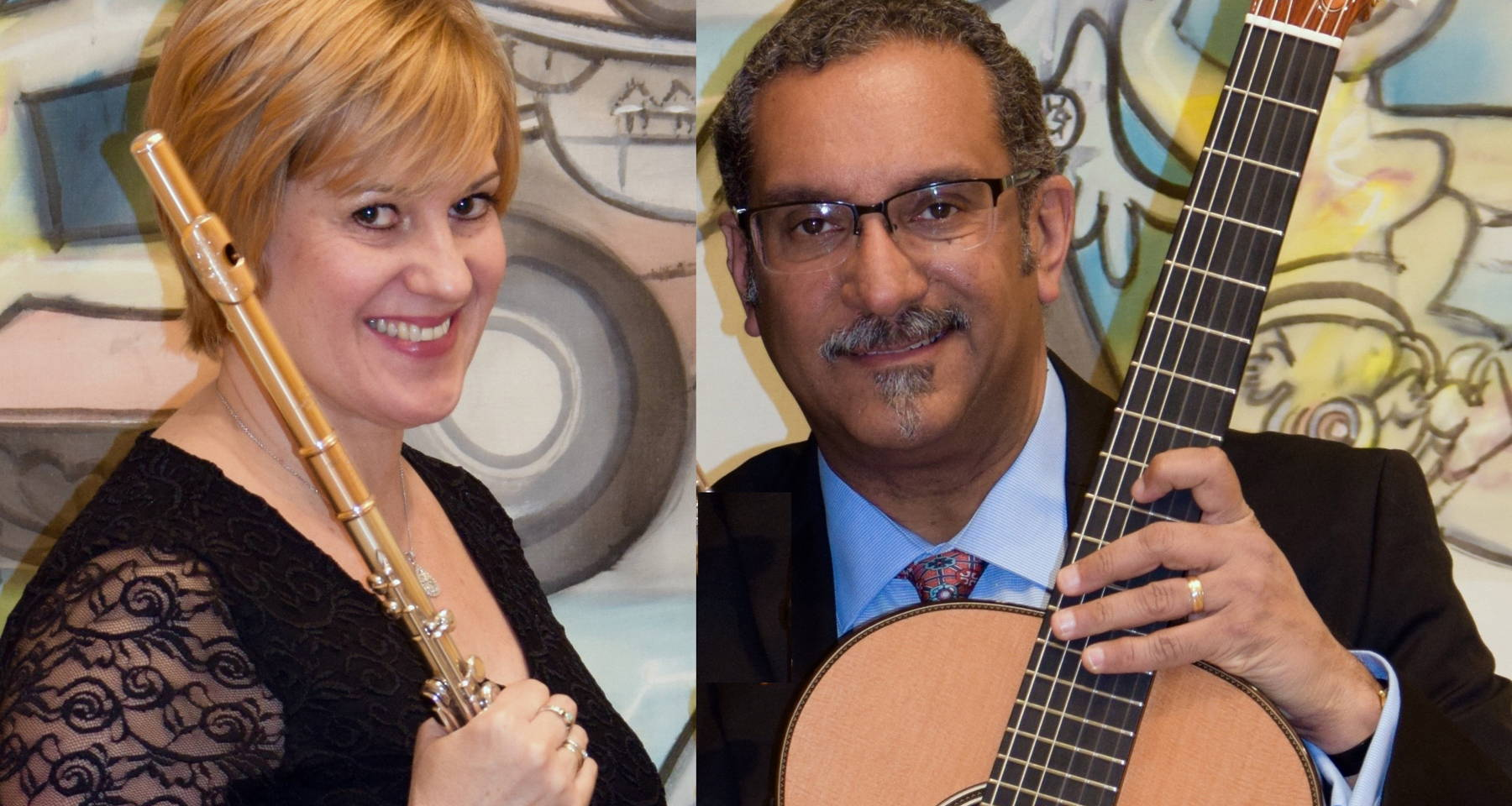 Reflections: The Soul of Latin America. Serenade Duo: Gerry Saulter, guitar - Michelle LaPorte, flute