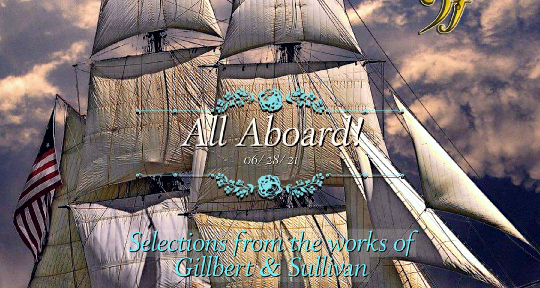 All Aboard the HMS Pinafore (and other songs by Gillbert and Sullivan)