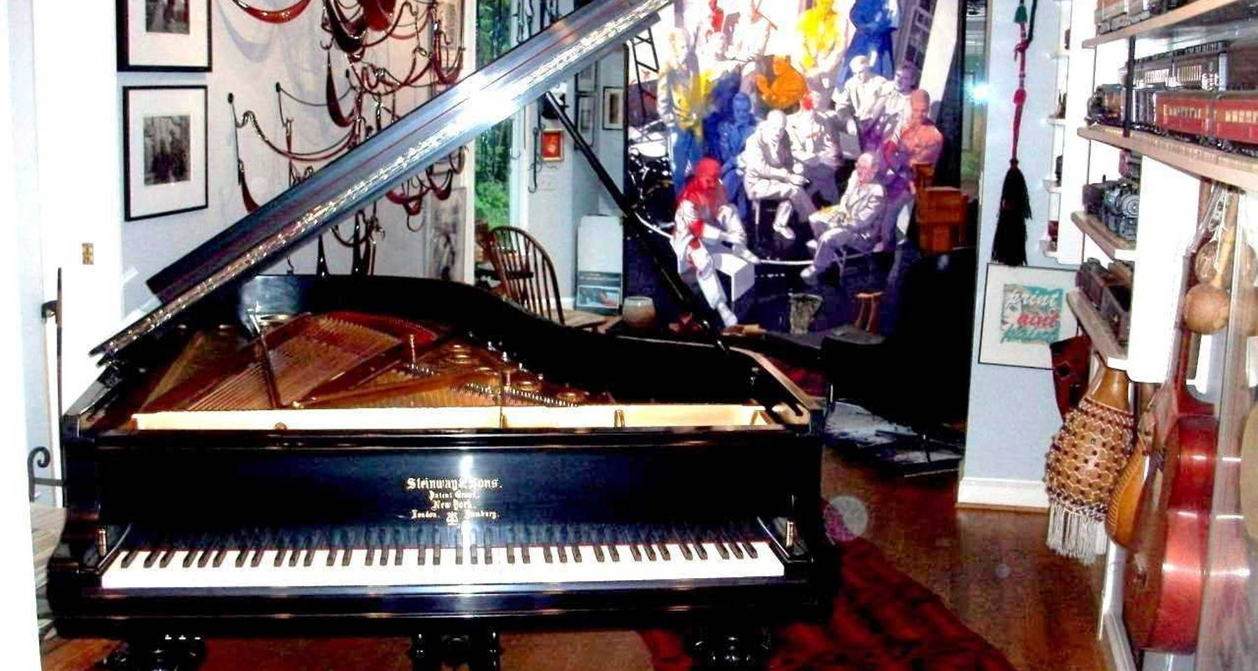 HASKELL SMALL RETURNS TO SOLOX, PIANO, 6th Appearance at Milo