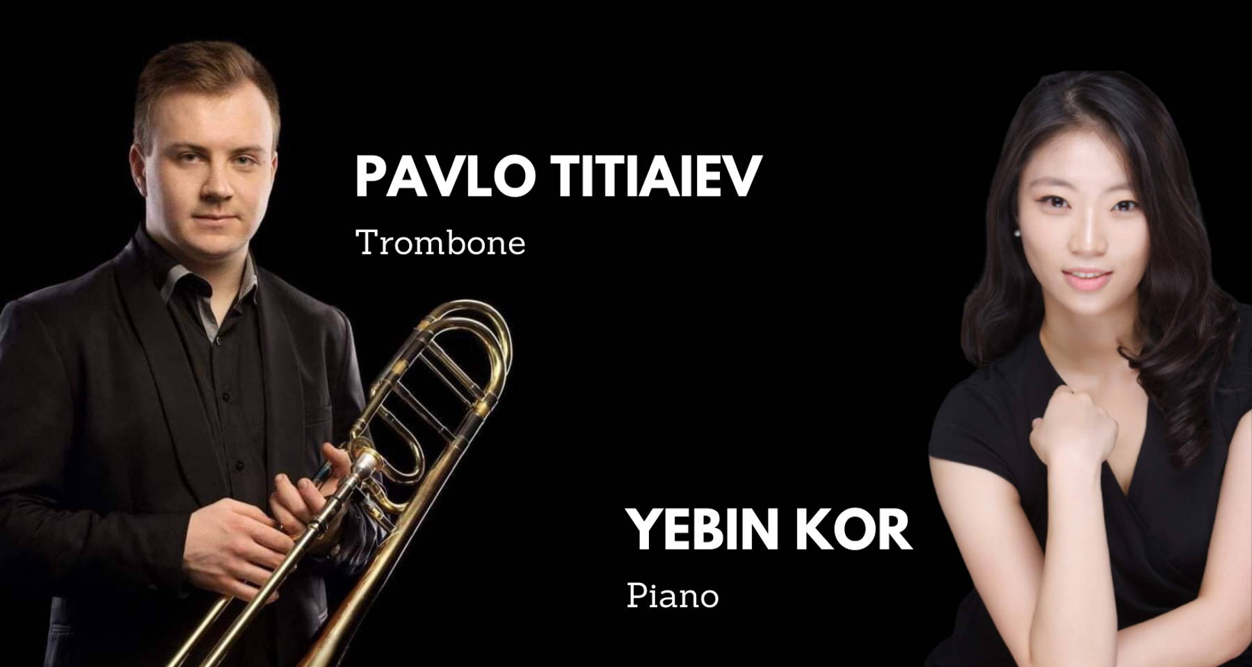 Pavlo & YeBin perform Telemann, Schubert, Hindemith, Pryor and others