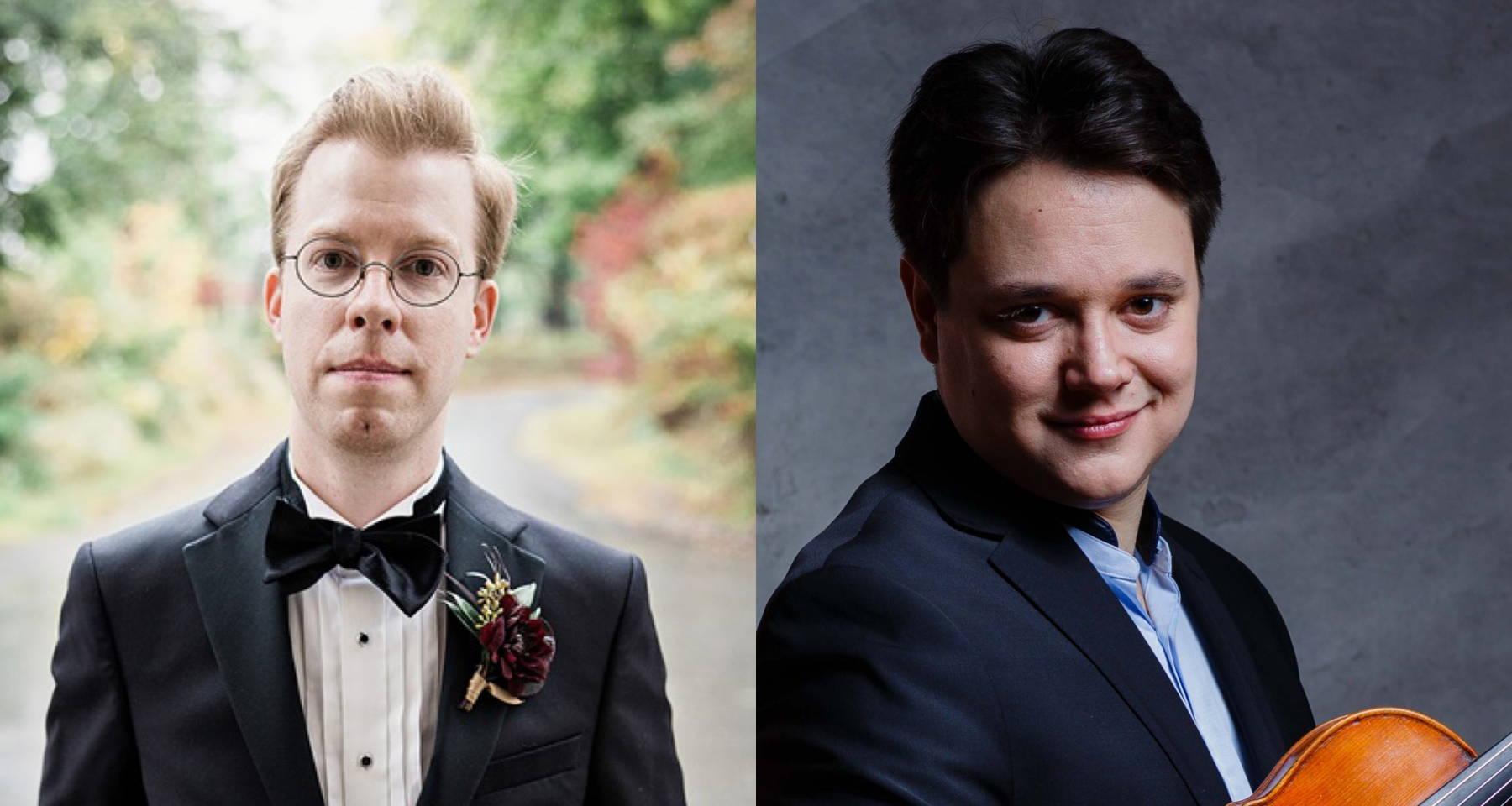 Forgotten Gems of the Violin Sonata Repertoire: Michael Maronich, piano and Nicholas Pappone, violin