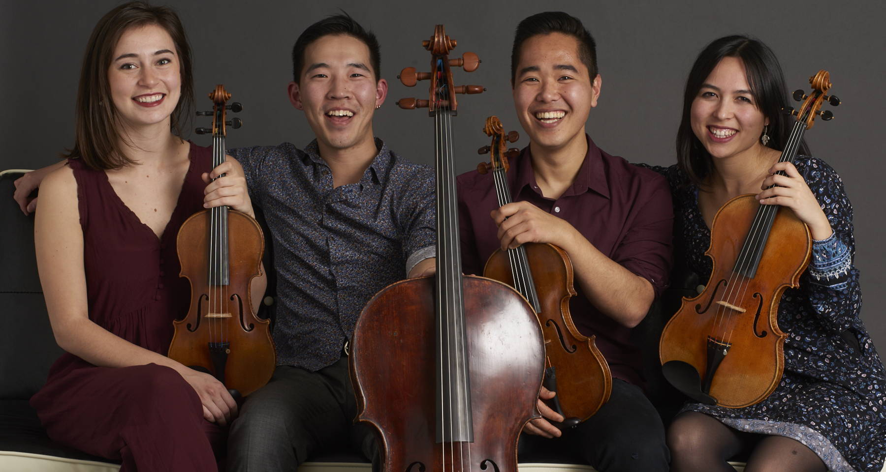 "A ""Folky Holiday"" with Rasa String Quartet!"