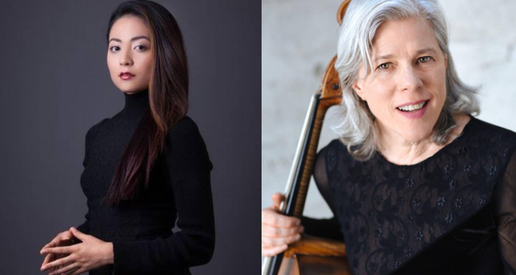 Audrey Vardanega & Tanya Tomkins celebrate Beethoven's 250th