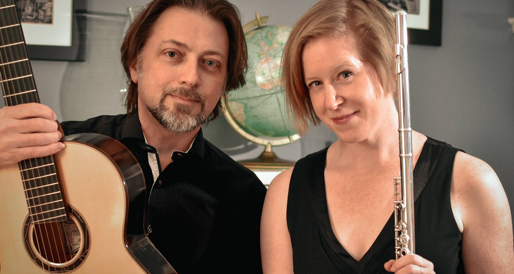 Tedesco, Tango, and Folk: Flute and Guitar duo with Amanda Roeder and Michael Bester
