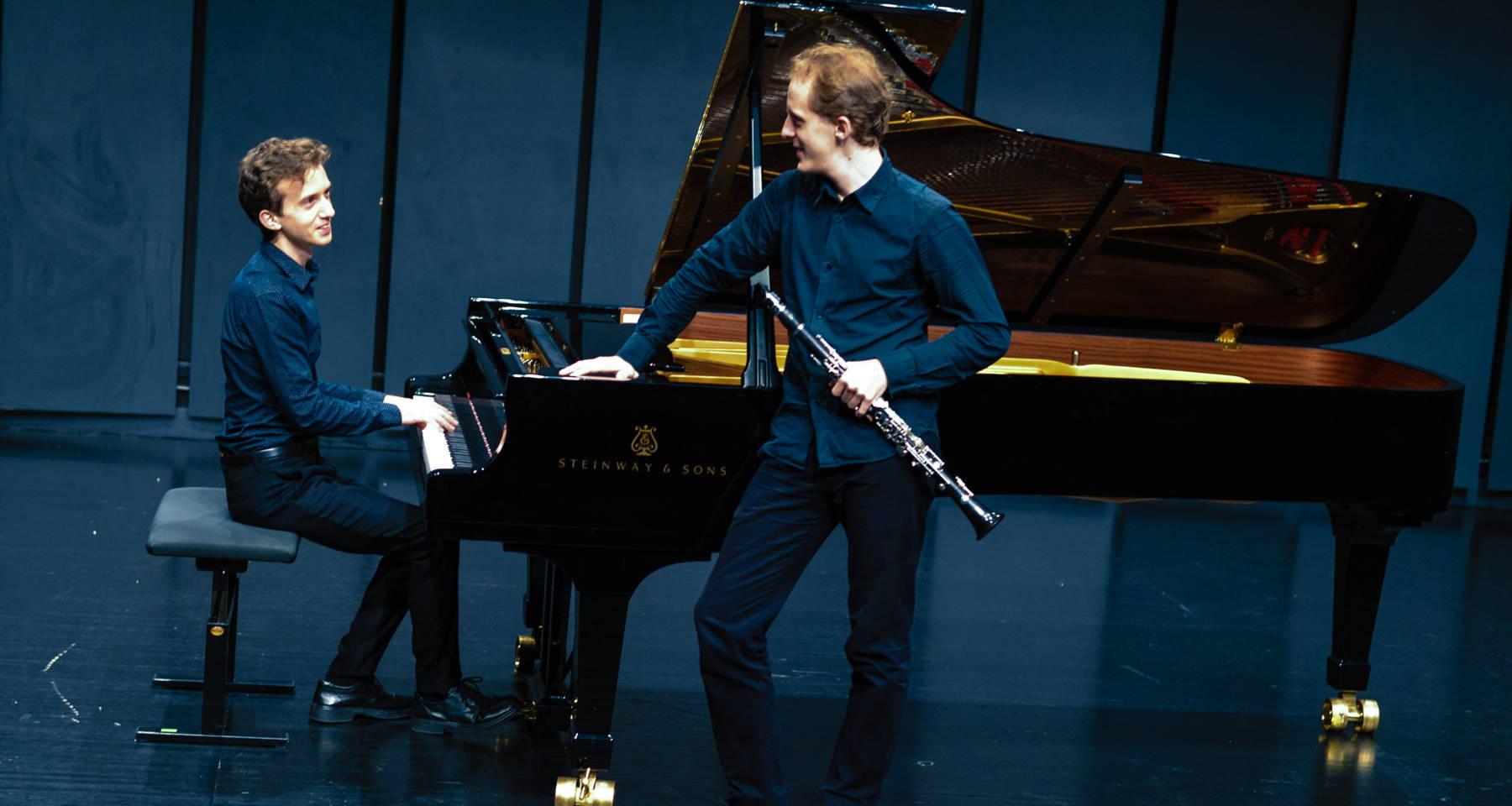 Duo In Fabula: clarinet repertoire, new horizons: Prokofiev, Monteverdi