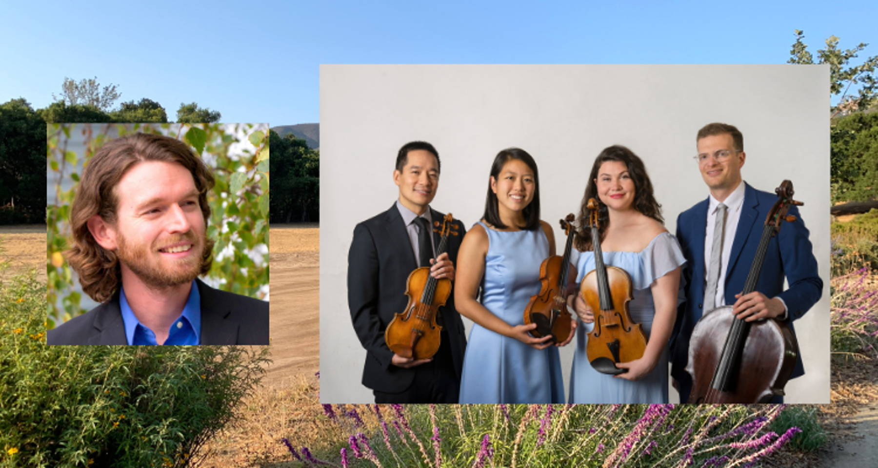 Festival Rolland 2021: Dvořák Piano Quintet with Ian Scarfe and the Sierra Quartet