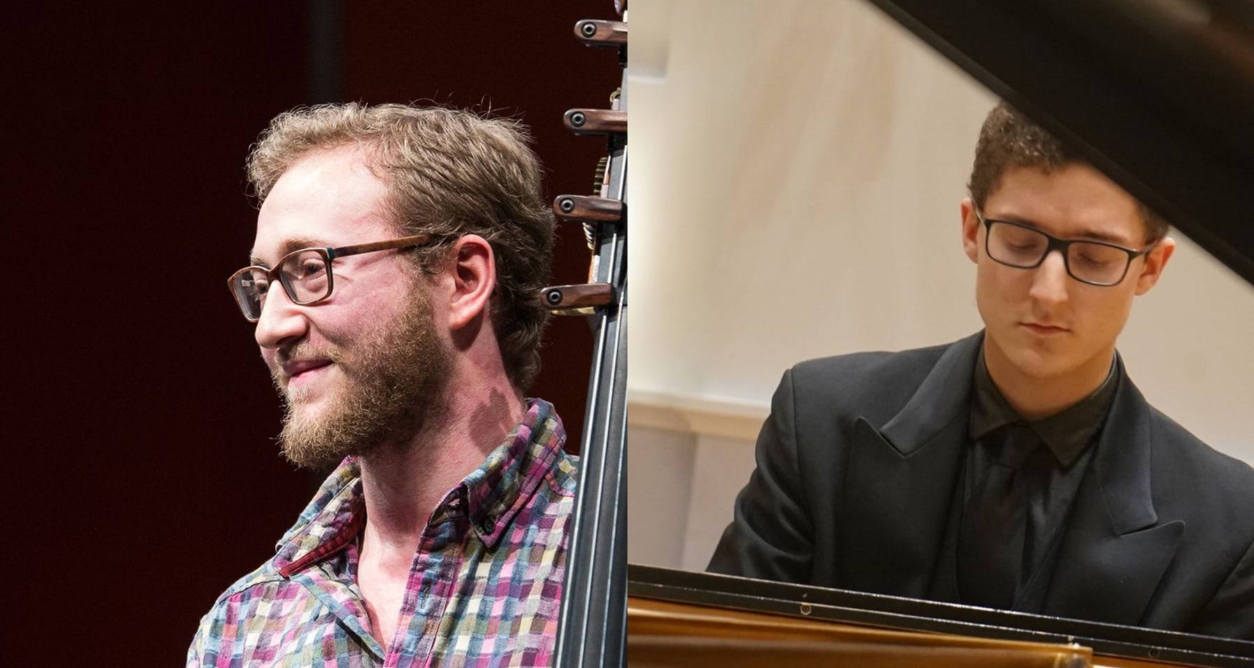 Sam on bass and Ryan on piano with music by Coleridge-Taylor, William Grant Still, H. Leslie Adams, and more.