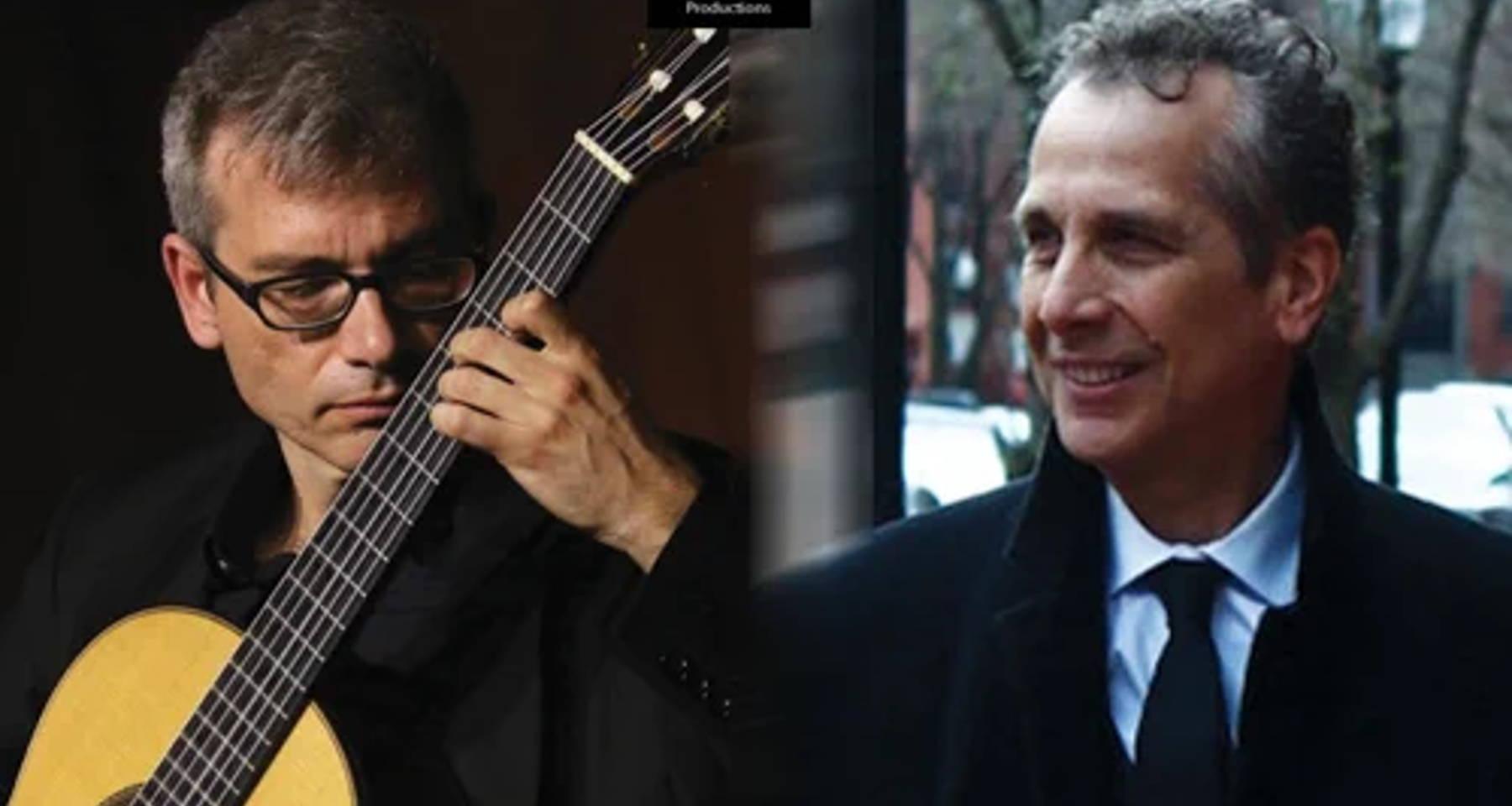 "New album presentation: ""The Guitar Etudes"" by Dimitris Kotronakis (guitarist) and Apostolos Paraskevas (composer)"
