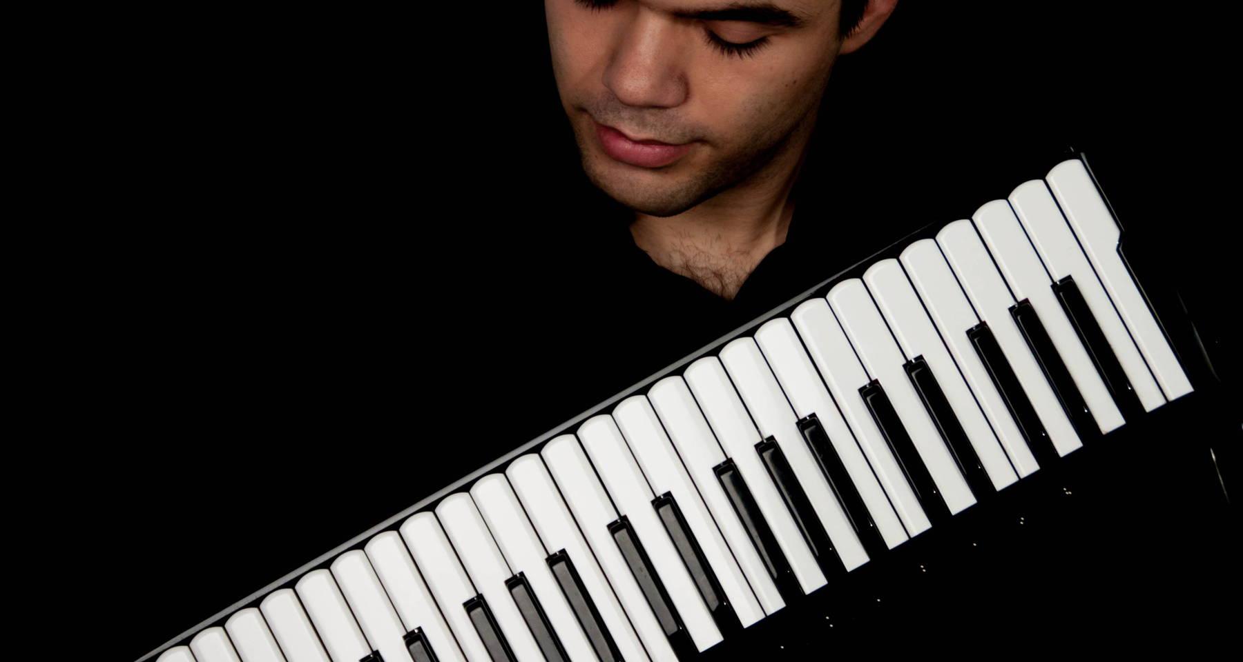 Accordionist Ghenadie Rotari performs Bach's Goldberg Variations