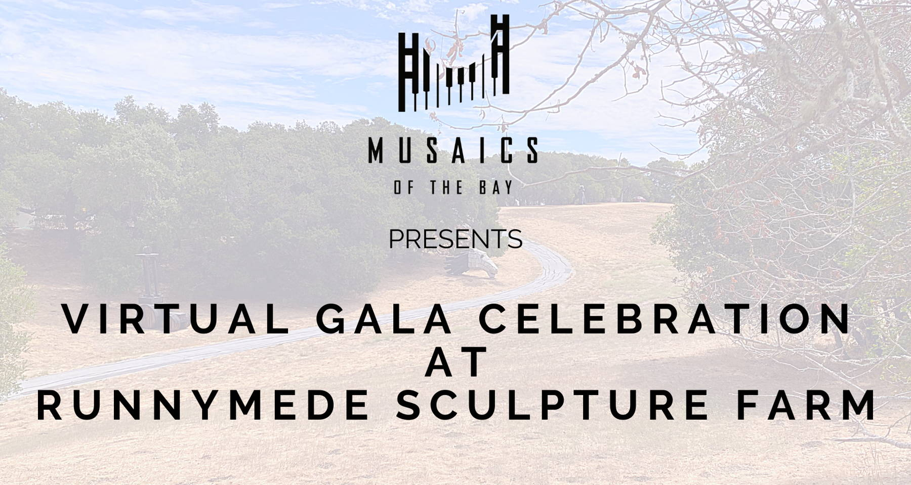 Virtual Gala Celebration at Runnymede Sculpture Farm: Works for One, Two and Three Cellos