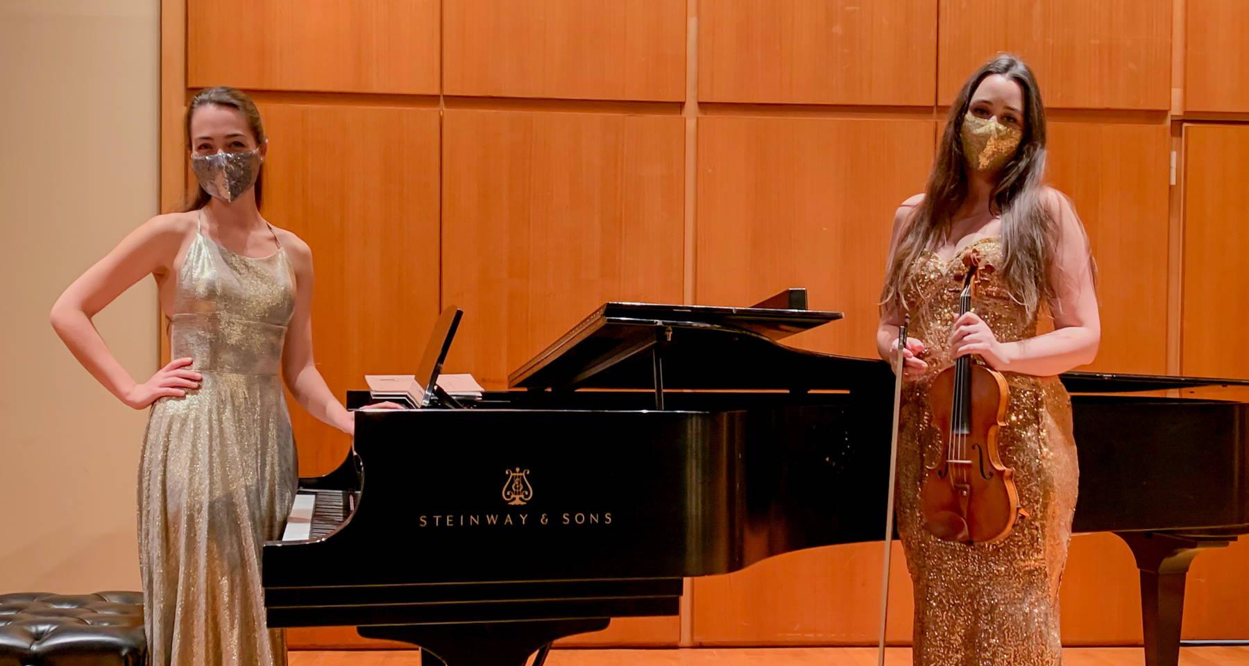 A Journey Through 2020 with Dakota Kievman (violin) and Maria Dell'Orefice (piano)